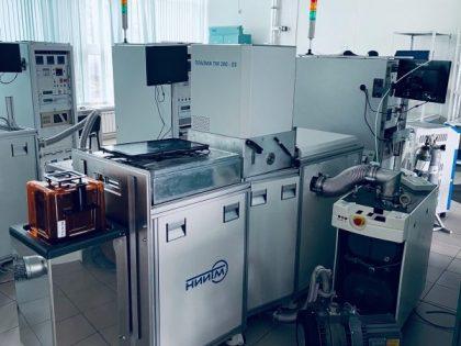 Установка удаления фоторезиста и полимерных слоев